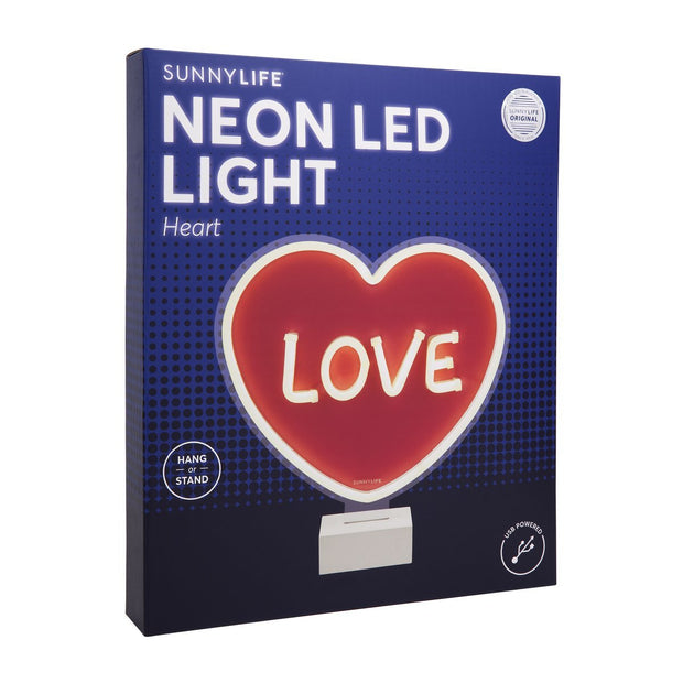Sunnylife Heart Neon LED light