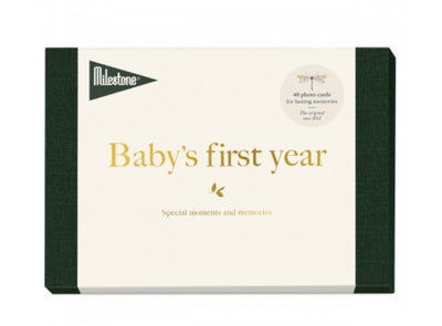 Milestone Baby's First Year Milestone Cards