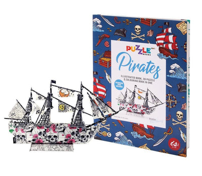 Puzzle Book - Pirate