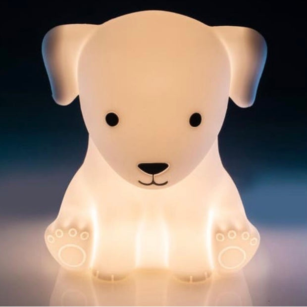 Silcone Touch LED Lamp - Dog