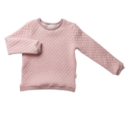 Love Henry Quilted Sweatshirt - Pink