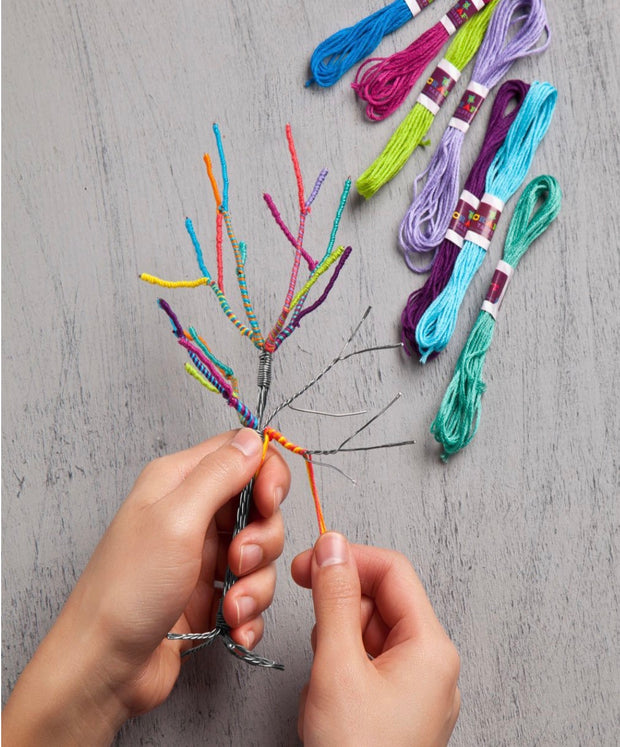 Craft-tastic Teeny Yarn Tree Kit