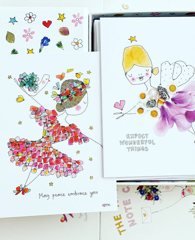The Art of Giving Note Card Set