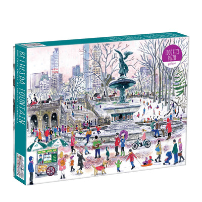 Galison 1000pc Puzzle - Bethesda Fountain