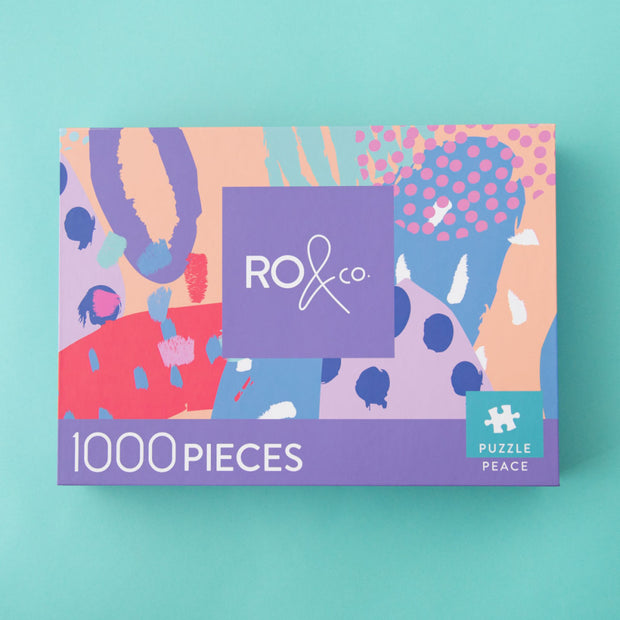 RO & Co 1000pc Puzzle - Peace