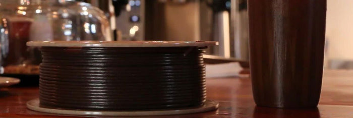 Coffee Based 3D Printer Filament: Wound Up