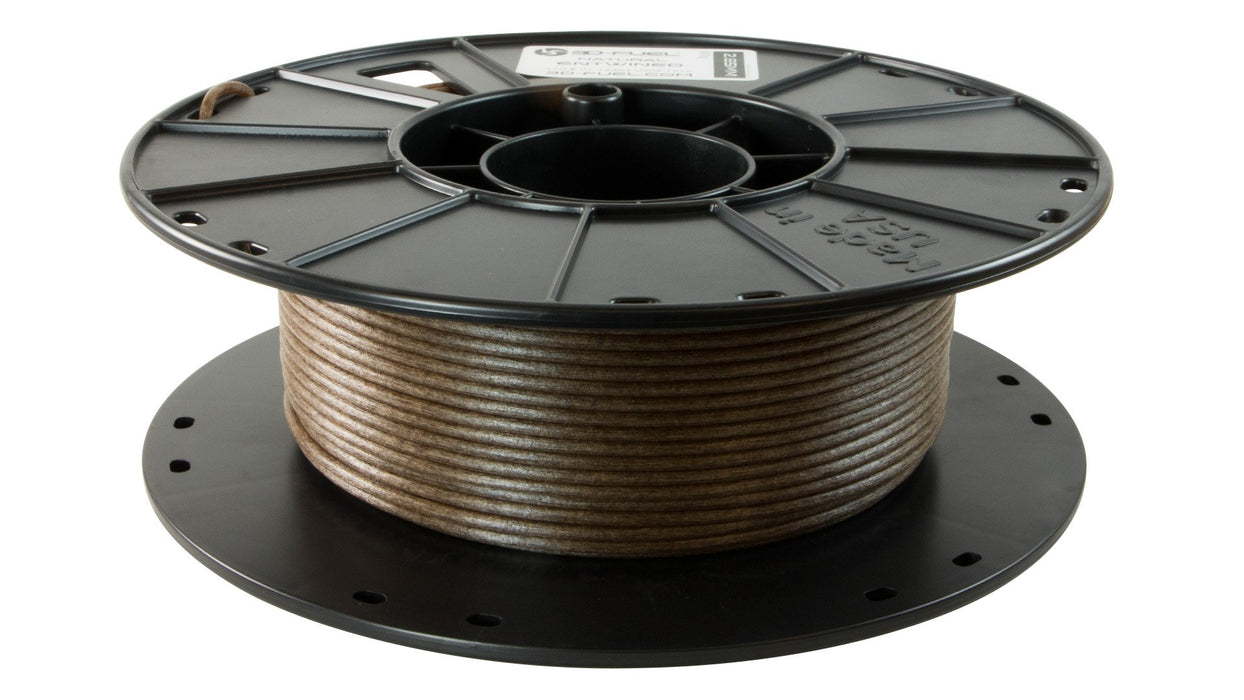 3D-Fuel Entwined Hemp filled PLA 2.85mm Horizontal Spool