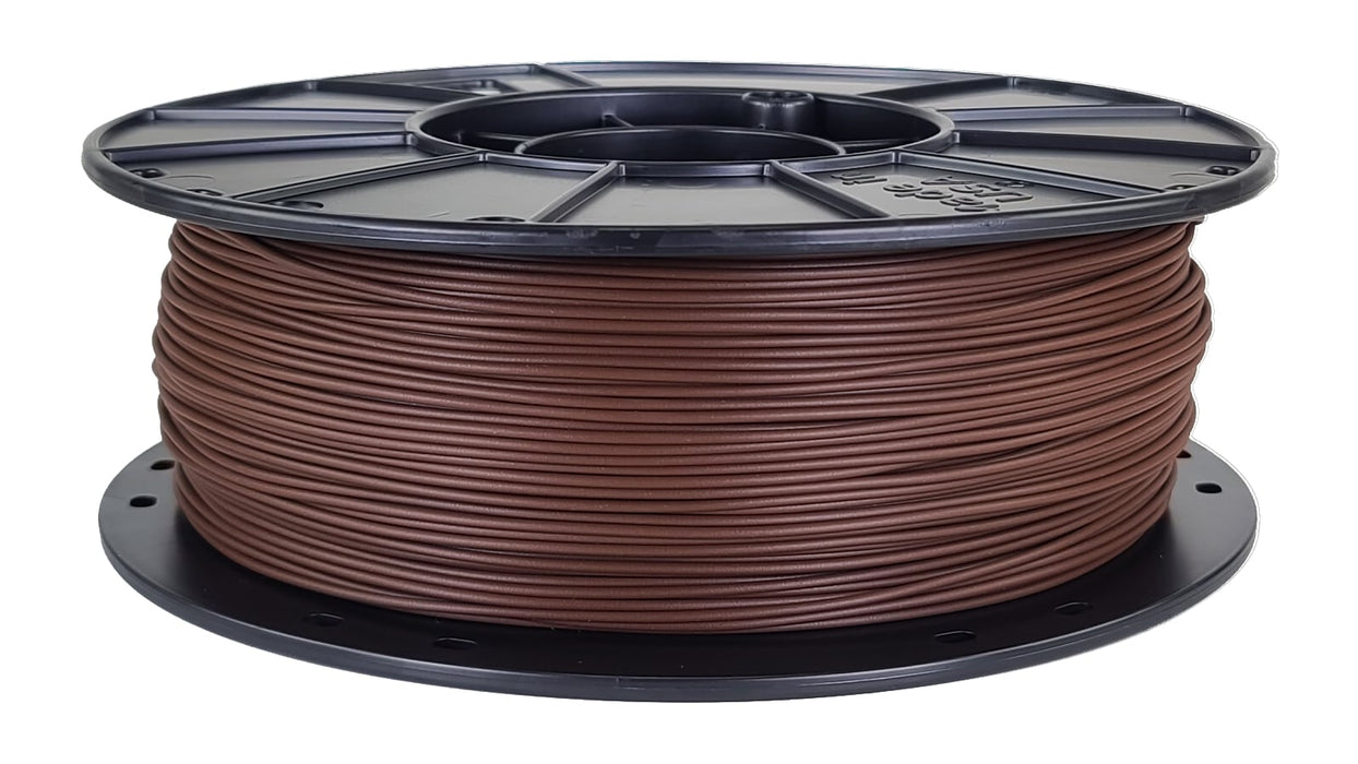 Standard PLA Filament - Chocolate Brown