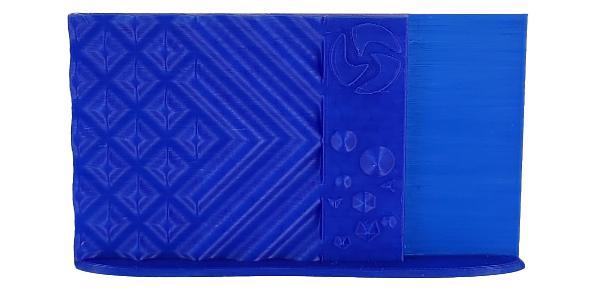 3D-Fuel PLA Cobalt Blue Print Sample 1.75mm