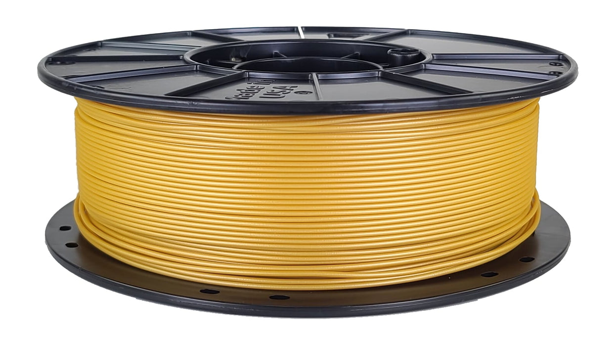 3D-Fuel PLA Metallic Gold Horizontal Spool 1.75mm