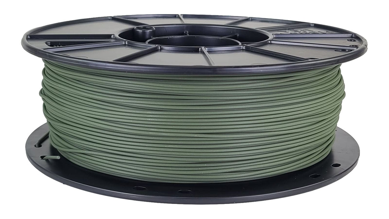 3D-Fuel Olive Green Horizontal Spool PLA 1.75