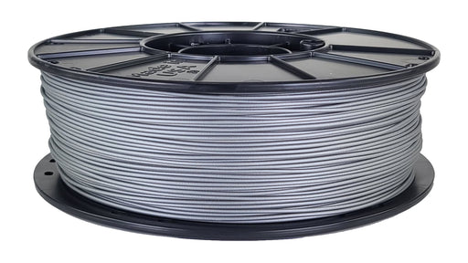 3D-Fuel PLA Simply Silver Horizontal Spool 1.75mm