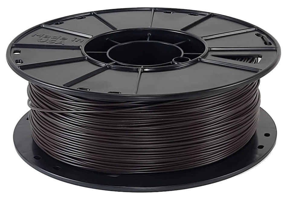 3D-Fuel Re-Fuel Recycled PLA Dark Horizontal Spool 1.75mm