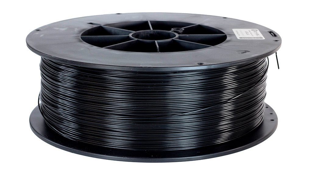 3d-fuel advanced PLA fossil fuel black 5 lb gray 1.75mm