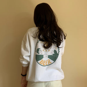 onatsu<br>「麦酒Beer」 Sweat Shirt