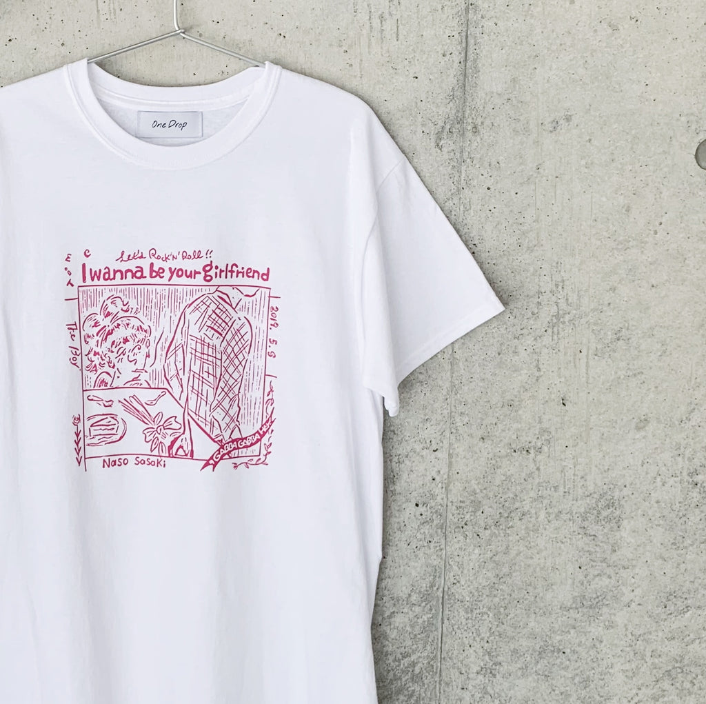 ささきなそ<br>I wanna be your girlfriend Tshirt