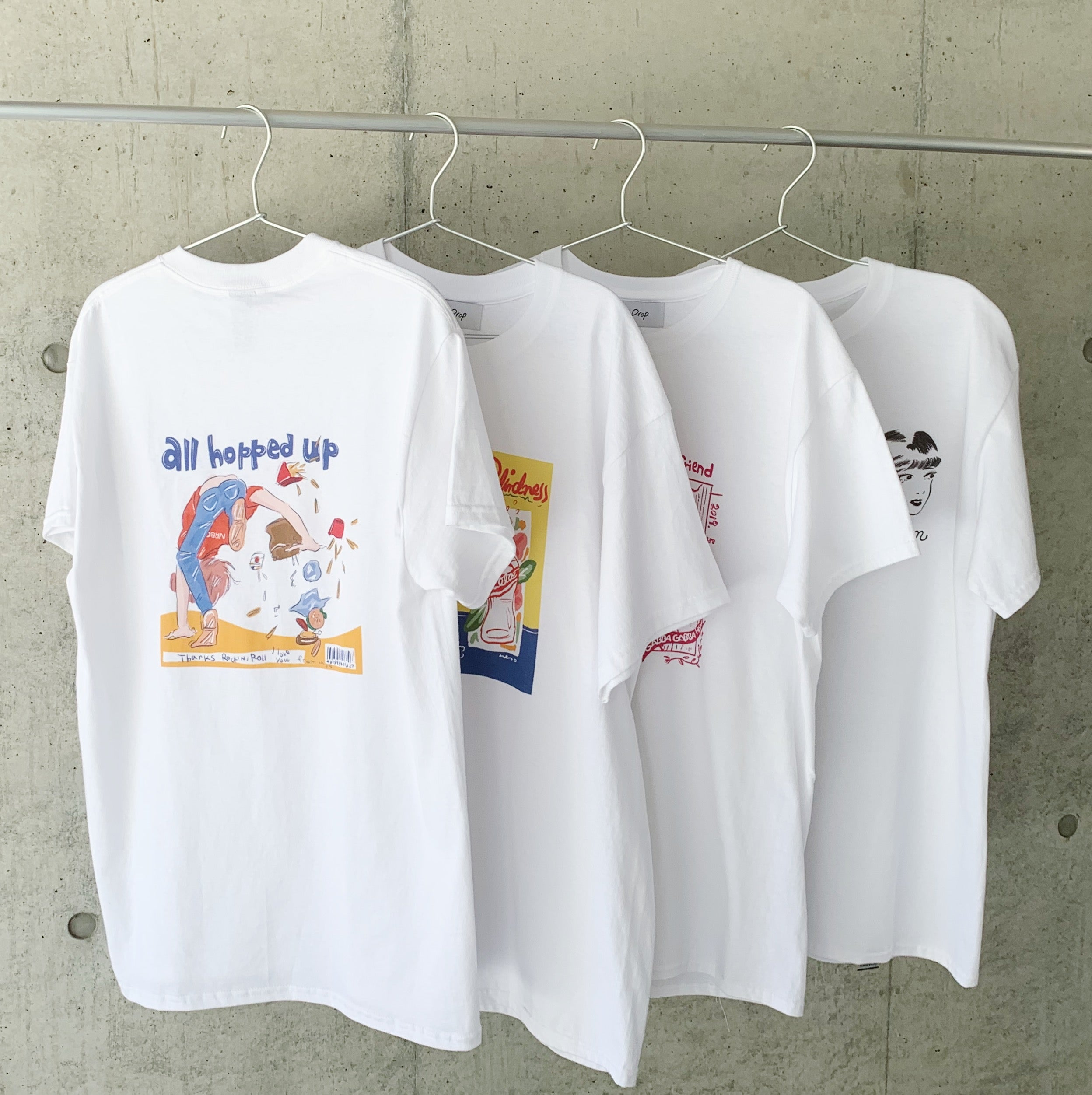 ささきなそ<br>all hopped up Tshirt