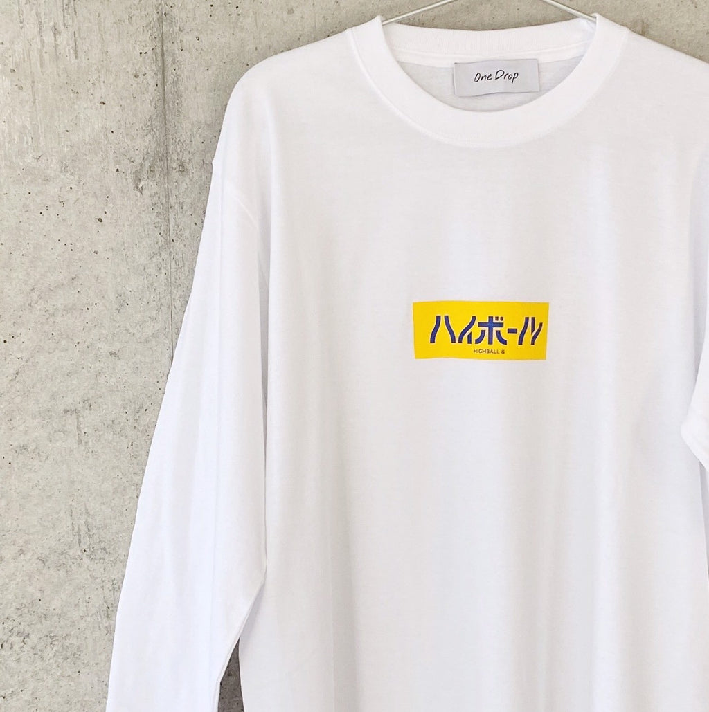 ふくだ  highball  LongTshirt2