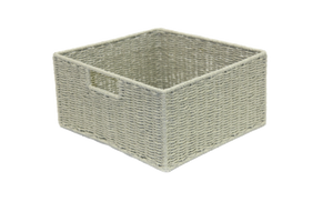 Paper Rope Wheat Grain Single Drawer