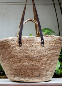 Oversized Jute Bag Natural