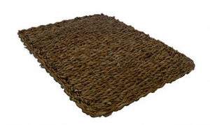 Rectangle Seagrass Placemat.  BDMATREC