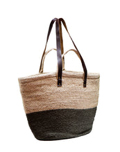Load image into Gallery viewer, Oversized Jute Bag Kalamata