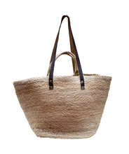 Load image into Gallery viewer, Oversized Jute Bag Natural