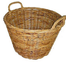Load image into Gallery viewer, Rattan Round Natural Utility Basket
