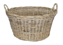 Load image into Gallery viewer, Rattan Oval Kubu Grey Utility Basket