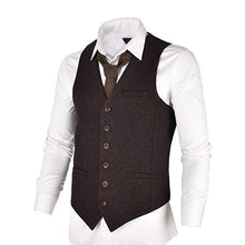 Load image into Gallery viewer, Made to Order Army Green Men's Suit Vest 3 Pockets Waistcoat