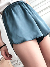 Load image into Gallery viewer, Women Silk Shorts in 8 Colors Homewear Sleepwear & Outside Wear