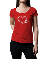 Broken Link Ladies' Short Sleeve T-shirt