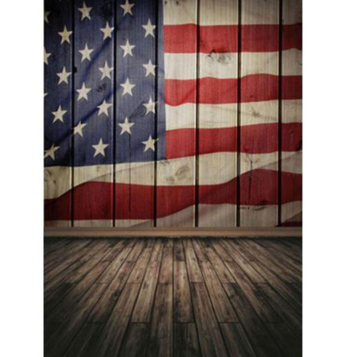 American Photography Background Flag