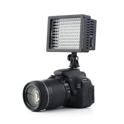 160 LED Camera Video Light for Canon for Nikon Camera DV Camcorder Photography Studio Professional High  Quality