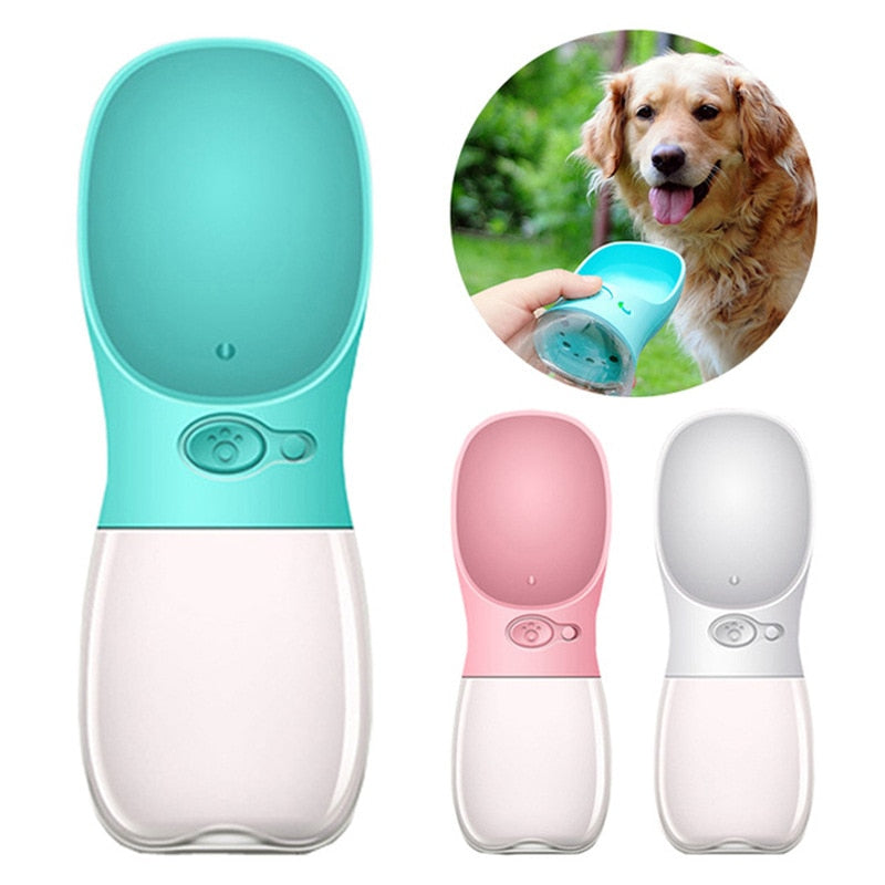 Portable Pet Water Bottle 350ML & 500ML Sizes - Pety Store