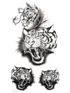 Angry Tigers - Tatouage Ephémère - Tattoo Forest