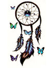 Butterfly Dreamcatcher - Tatouage Ephémère - Tattoo Forest