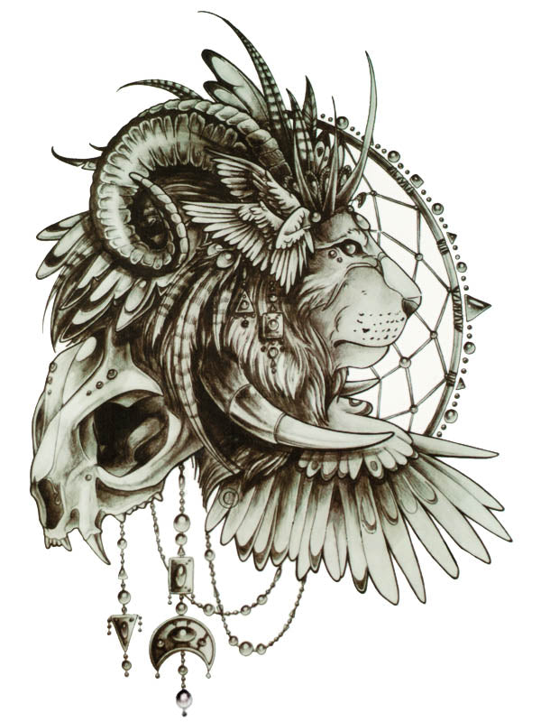 Horny Lion Dreamcatcher
