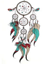 Indian Dreamcatcher - Tatouage Ephémère - Tattoo Forest
