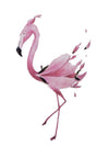 Pink Flamingo 1 - Tatouage Ephémère - Tattoo Forest