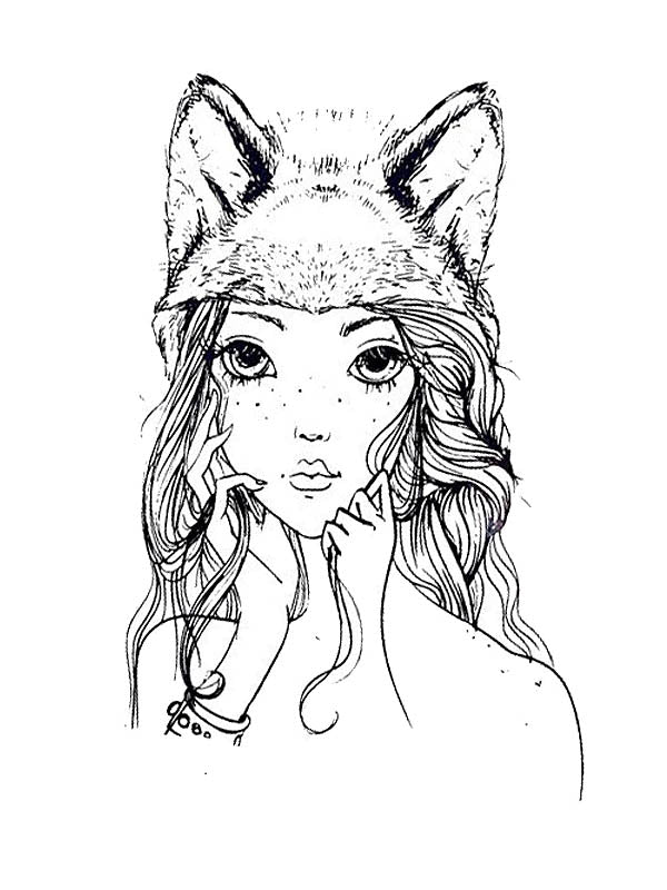 Pretty Fox Girl