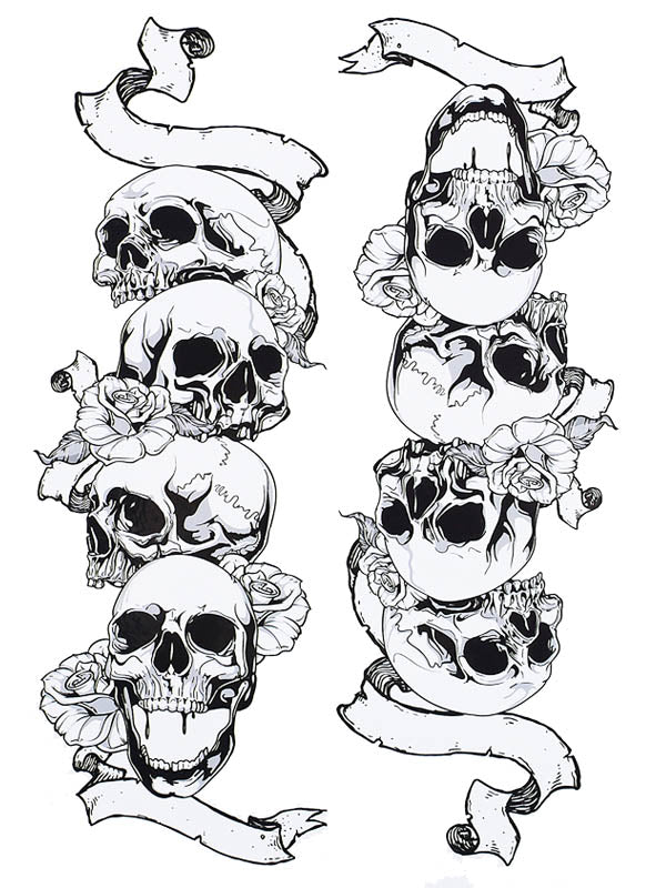 Skulls and Banners