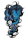 Tribal Blue Cobra