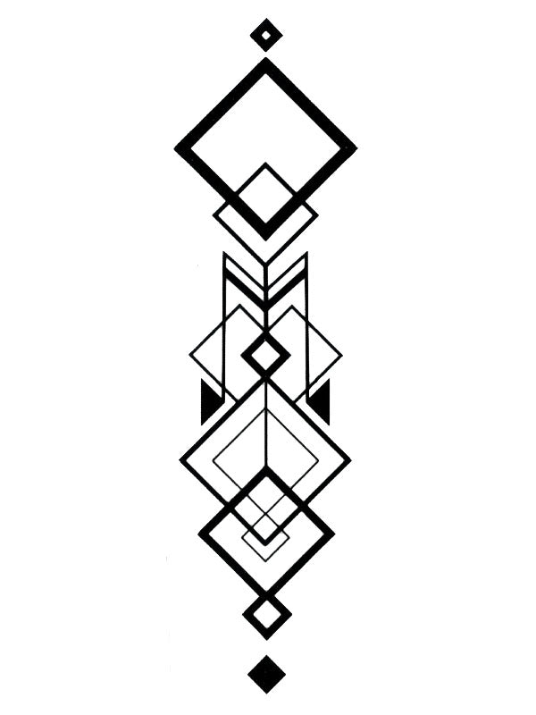 Tribal Square Arrow