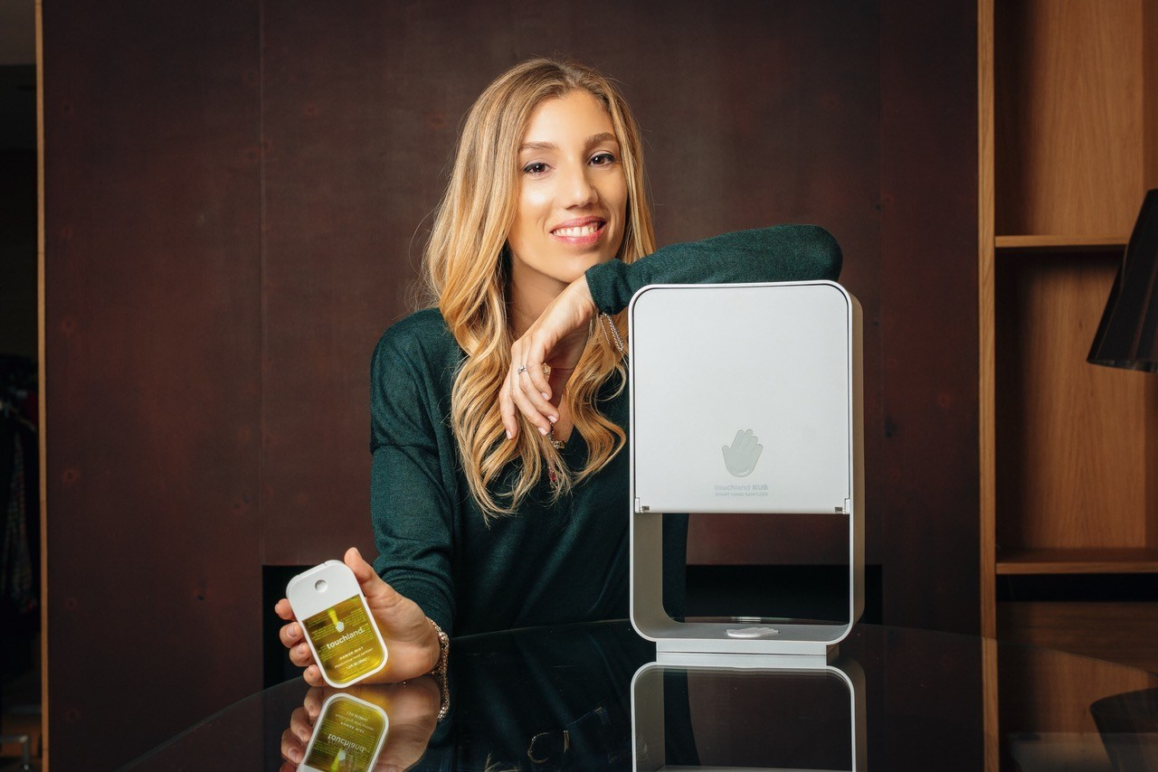 Touchland is revolutionizing hand hygiene with innovative products