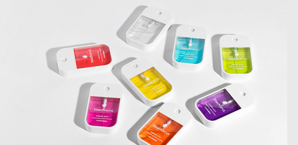 Customize Your Own Hand Sanitizer Touchland