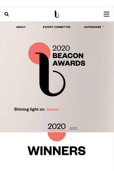 2020 Beacon Awards winner - Product Innovation