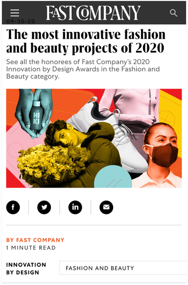 Fast Company's 2020 Innovation by Design Awards