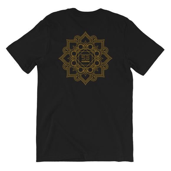 Balance Short-Sleeve Unisex T-Shirt - Black / Gold - 53Outdoors