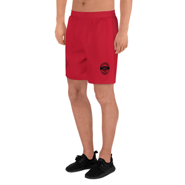 UClan x 53 Men's Athletic Long Shorts - Red / Black - 53Outdoors